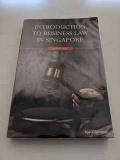 Introduction To Business Law In Singapore 5th Edition New