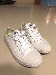 🚚 Converse lunarlon 白鞋