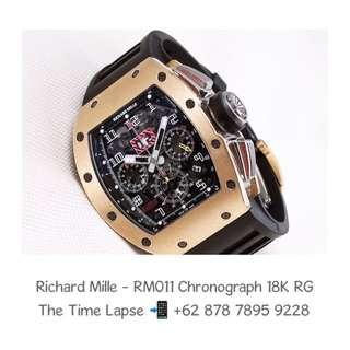 Richard Mille - RM011 Chronograph, 18K Rose Gold