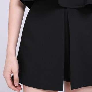<Runway Bandits> Thelix Shorts in Black XS