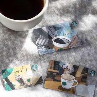 🚚 ☕️ Limited Edition Starbucks Japan Coffee Cards Set of 3