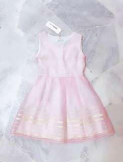 Pink dress include postage
