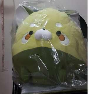 "Mochi Zoo Lesser Panda ""Matcha"" Color (aka red panda in green) 2x"