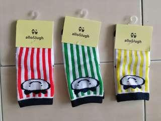 New allo&lugh Anti-slip Baby Socks (Free size: 10cm-12cm)