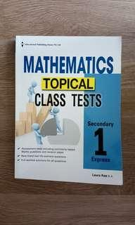 Sec 1 Express EPH Math Topical Class Tests