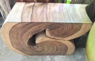 Solid teak wood benches
