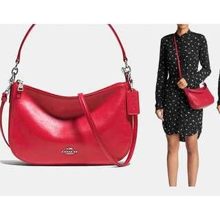 BNWT AUTHENTIC COACH  CHELSEA CROSSBODY/ SHOULDER BAG IN SMOOTH CALF LEATHER (COACH F37018 37018)