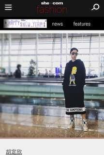 🆕D-mop x Simpsons hoodie dress