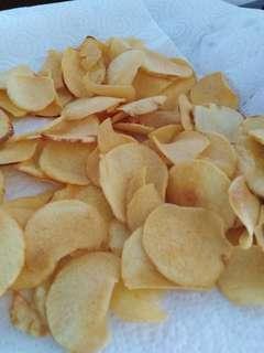 Lightly salted Crispy arrowhead chips