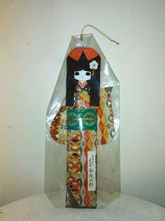 Japanese paper doll decoration