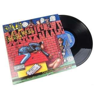 "Snoop Dogg Doggy style 12"" vinyl"