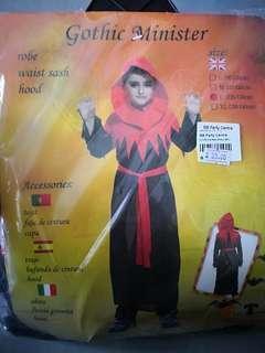 Gothic minister costume