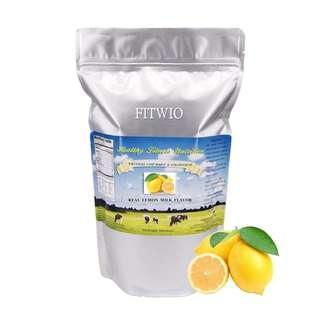 檸檬奶味🍋  助排毒減肥健身增肌  適合男女老幼  澳洲蛋白粉