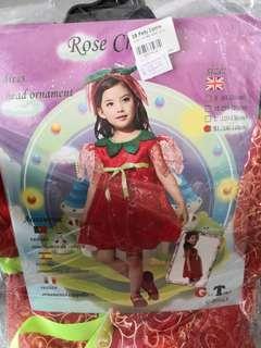 Rose cherub costume