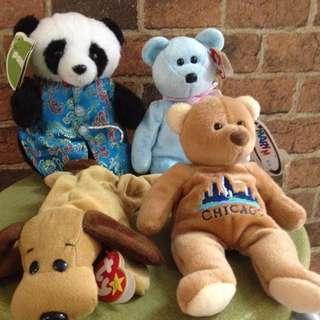 Beanies Bear And Panda