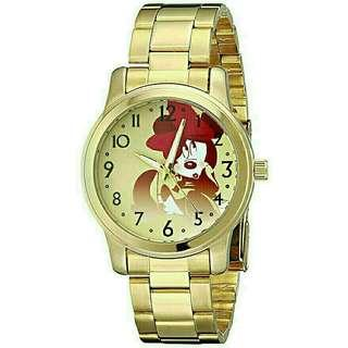 Women's Watch Disney Minnie Mouse Gold Metal W001839