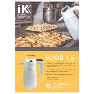 IK FOOD 1.5 Sprayer - Oils, butter, syrup, caramel