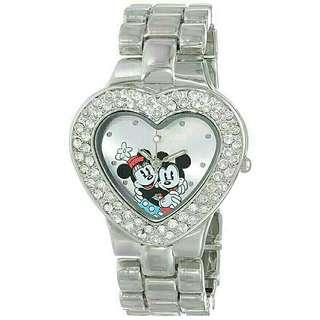 Women's Watch Disney Mickey Mouse Minnie Metal Silver MN2003