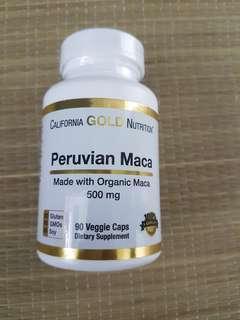 California Gold Nutrition Maca Veggie Caps
