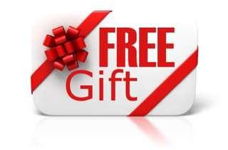 Free Mystery Gift with minimum $10 purchased