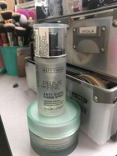 Catrice prime & fine anti shine fixing spray