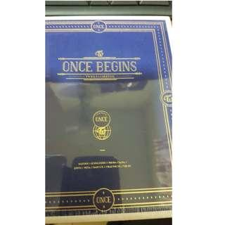 READY STOCK TWICE ONCE BEGINS BLU-RAY