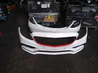 Original Used Mercedes Benz AMG W205 C63 Front and Back Bumper