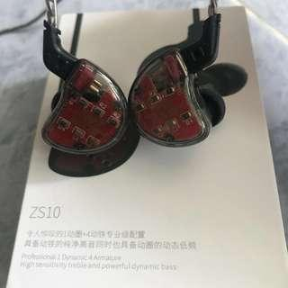 KZ ZS10 4BA+1DD Earphone