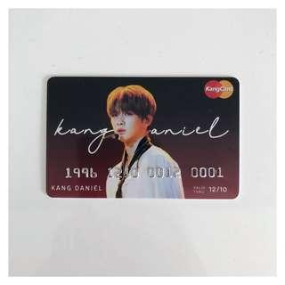 wanna one | kang daniel pvc bank card