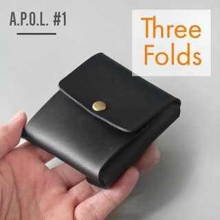 """🚚 A.P.O.L. #1 - The """"Three Folds"""" Mini Wallet/Pouch"""