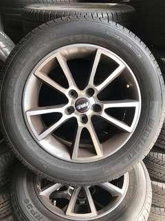 """16"""" Used Taiwan Rim with tyre"""