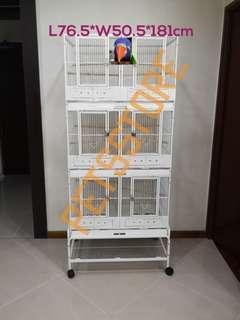 3 Tier Divider Breeding Cage