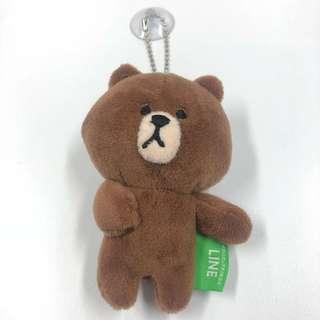 Line Brown 熊大公仔鎖鑰扣