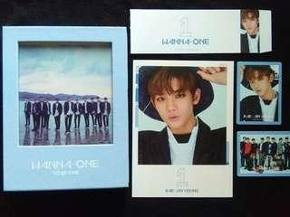 To be one wanna one sky blue jinyoung set