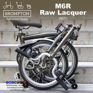 BROMPTON M6R Raw Lacquer