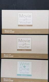 Golden Village Gold Class and $20 Food Voucher