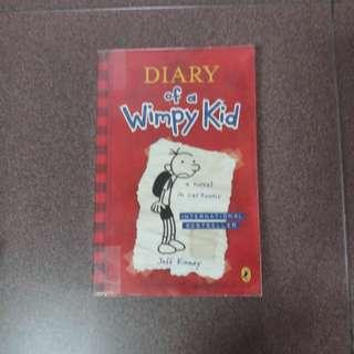 Story book - Diary of Wimpy kid