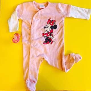Disney Baby Minnie Mouse Sleeper 0-3m
