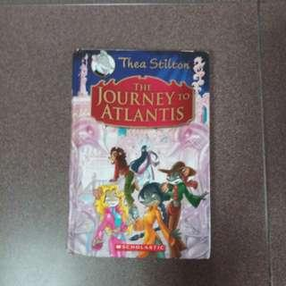Story book - The journey to Atlantis
