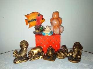 Mix ornament & animal horoscopes