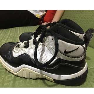 Authentic Nike for Kids (glossy black & white) 20Cm (6-7 years old)