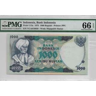 Indonesia Rupiah, Rare