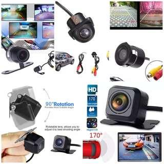 New Car Rear Reverse Camera ($20 each any design) - Complete Set (Ready Stock)