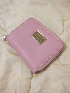 粉色小錢包