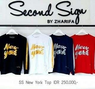 Ss New York Top