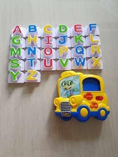 Leapfrog Alphabets Fridge Magnets