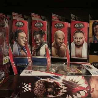 WWE Mattel Wrestling Action Figure Toys (from $25)