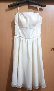 Off white / cream formal dress