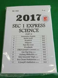 2017 secondary 1 express science practice paper