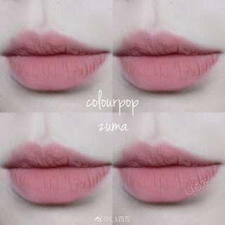 [READY STOCK] COLOURPOP Ultra Blotted Lip in Zuma